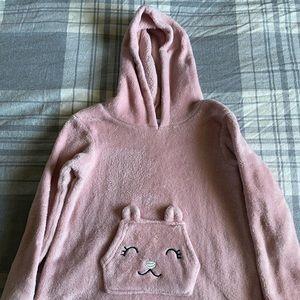 Quiltex Pink Girls Hoodie